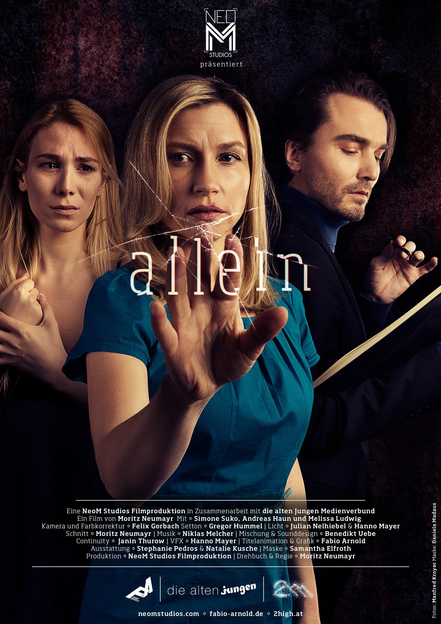 Allein_Film_Poster